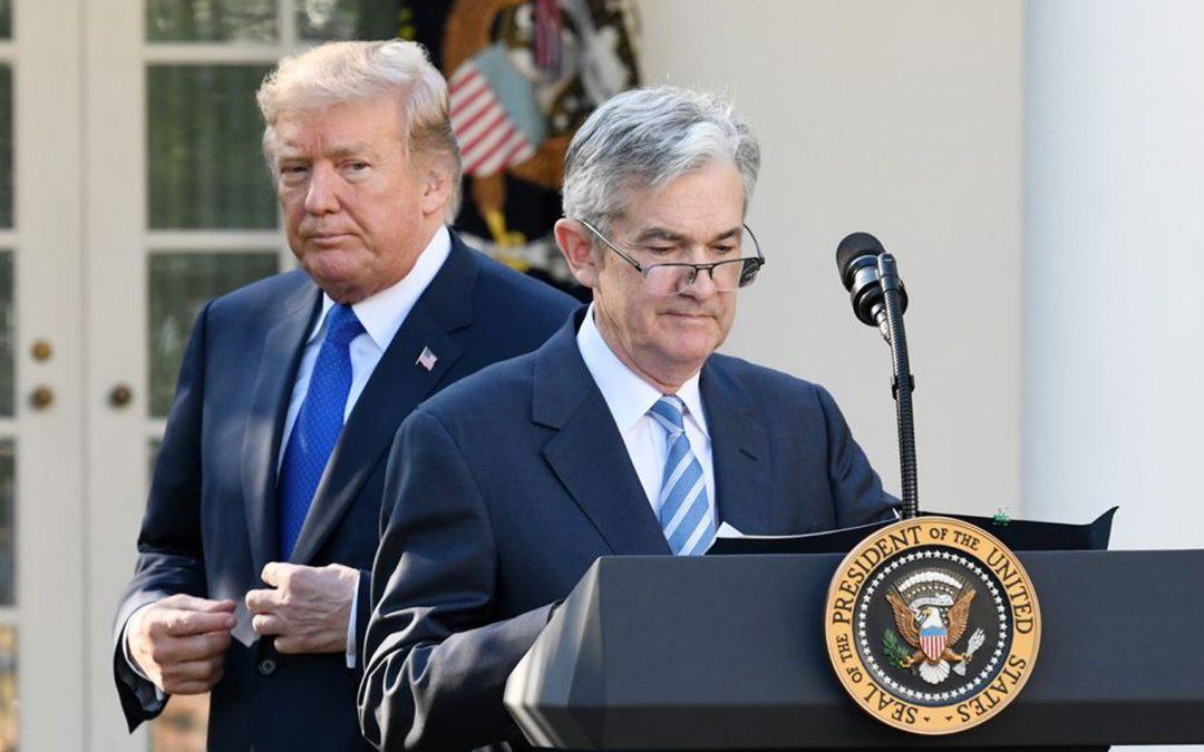 Trump presiona a la Fed para que reduzca más las tasas a medida que Mega Banks agota el balance