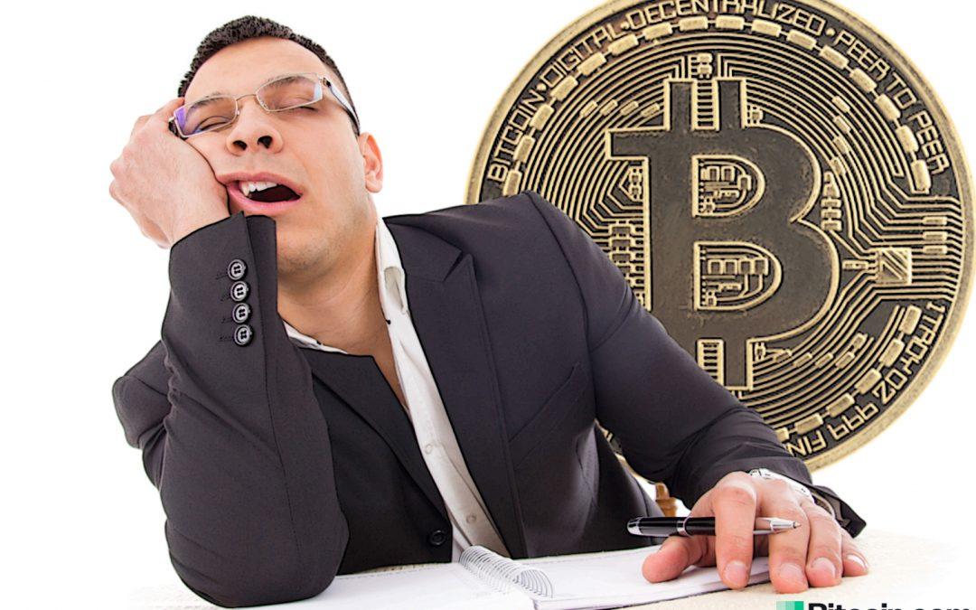 Los datos muestran que el interés institucional en Bitcoin ha disminuido