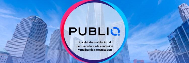 PUBLIQ logo Twitter periodismo blockchain