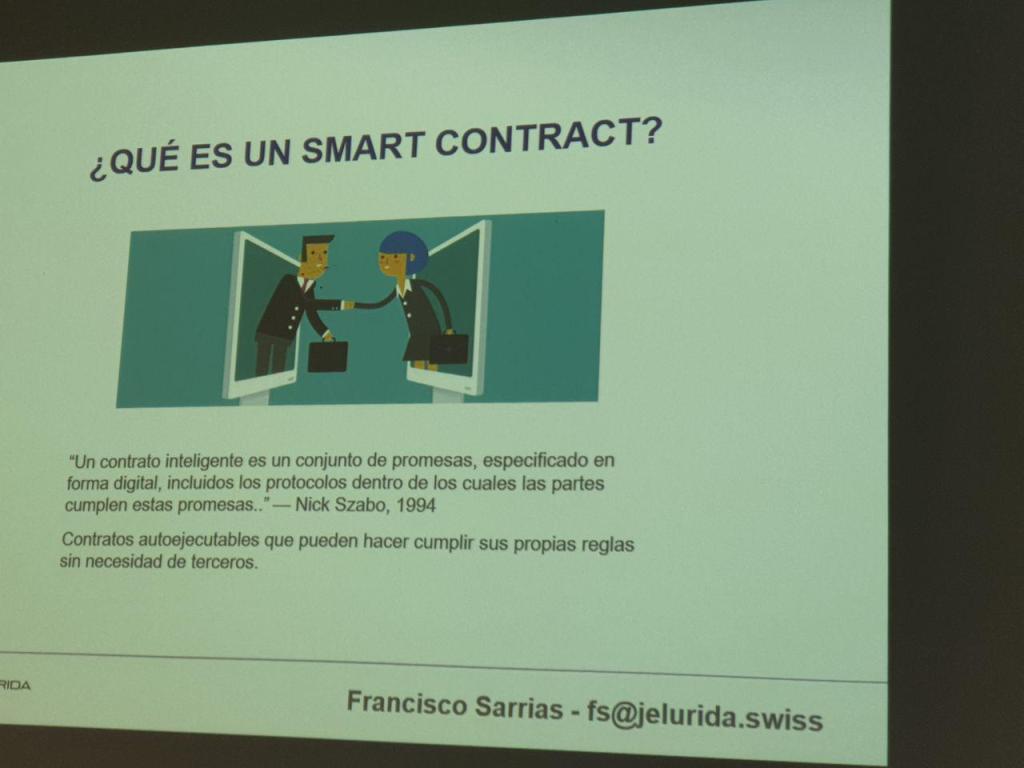 contrato inteligente IOTSWC