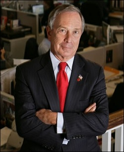 Propietario multimillonario de Bloomberg News, Michael Bloomberg