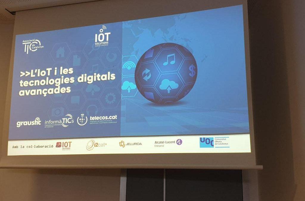 blockchain, 5G, IOT, robótica e IA en Barcelona