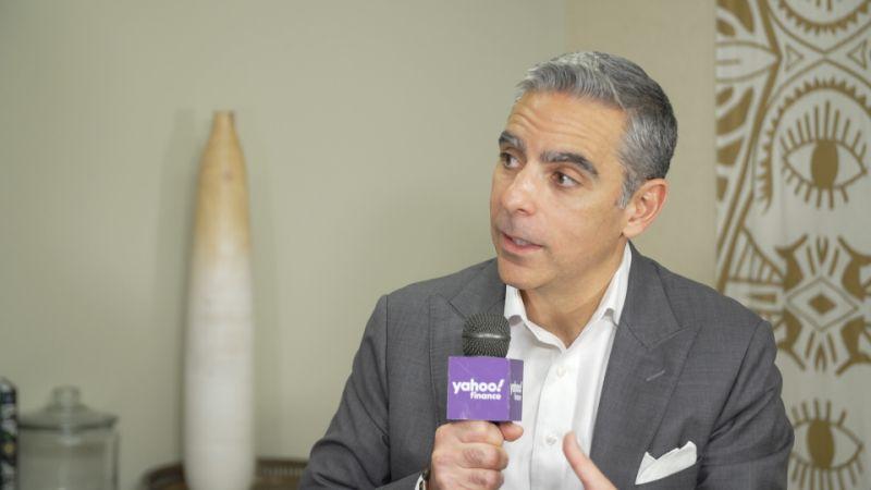 David Marcus, jefe de Calibra, habla con Yahoo Finance el 15 de octubre.
