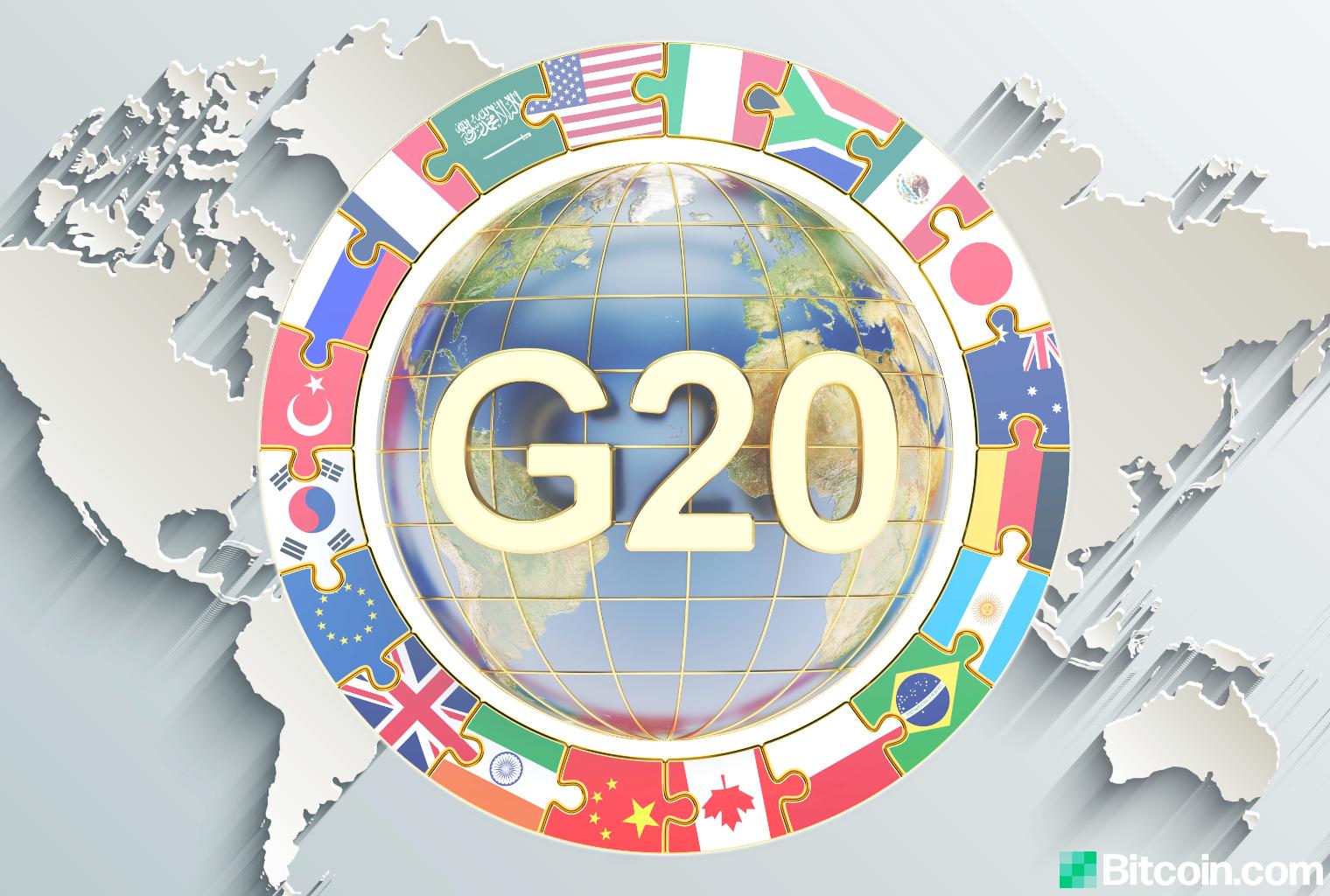 Las monedas estables informadas del G20 podrían representar un riesgo de estabilidad financiera