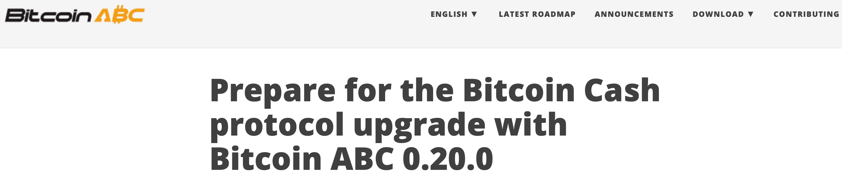 "Los proponentes de efectivo de Bitcoin se preparan para las próximas características de actualización ""width ="" 2700 ""height ="" 600 ""srcset ="" https: //news.bitcoin .com / wp-content / uploads / 2019/10 / prepare.jpg 2700w, https://news.bitcoin.com/wp-content/uploads/2019/10/prepare-300x67.jpg 300w, https: // noticias .bitcoin.com / wp-content / uploads / 2019/10 / prepare-768x171.jpg 768w, https://news.bitcoin.com/wp-content/uploads/2019/10/prepare-1024x228.jpg 1024w, https : //news.bitcoin.com/wp-content/uploads/2019/10/prepare-696x155.jpg 696w, https://news.bitcoin.com/wp-content/uploads/2019/10/prepare-1392x309. jpg 1392w, https://news.bitcoin.com/wp-content/uploads/2019/10/prepare-1068x237.jpg 1068w ""tamaños ="" (ancho máximo: 2700px) 100vw, 2700px"