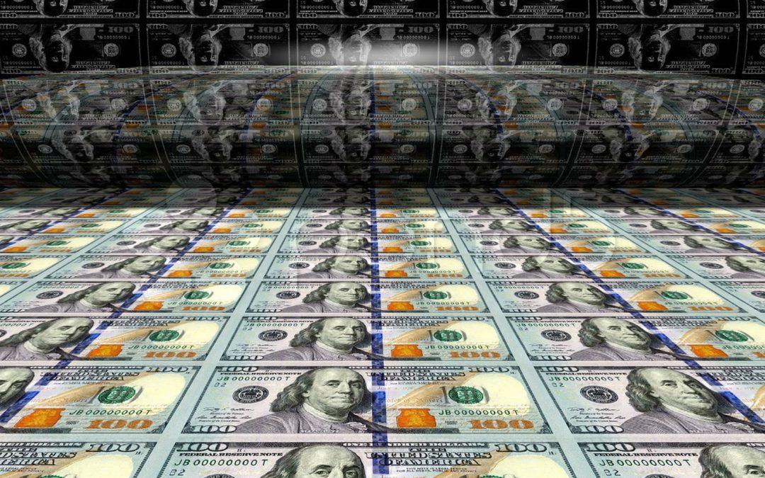 Fiat más sucio: dos docenas de bancos centrales aceleran las imprentas