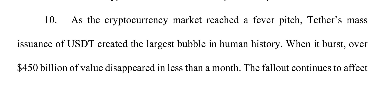 """Tether creó la demanda de reclamos de 'La burbuja más grande en la historia humana' contra Bitfinex"""" width = """"2224"""" height = """"498"""" srcset = """"https://news.bitcoin.com/wp-content/uploads/2019/10 /screen-shot-2019-10-08-at-22-44-28.png 2224w, https://news.bitcoin.com/wp-content/uploads/2019/10/screen-shot-2019-10- 08-at-22-44-28-300x67.png 300w, https://news.bitcoin.com/wp-content/uploads/2019/10/screen-shot-2019-10-08-at-22-44 -28-768x172.png 768w, https://news.bitcoin.com/wp-content/uploads/2019/10/screen-shot-2019-10-08-at-22-44-28-1024x229.png 1024w , https://news.bitcoin.com/wp-content/uploads/2019/10/screen-shot-2019-10-08-at-22-44-28-696x156.png 696w, https: // noticias. bitcoin.com/wp-content/uploads/2019/10/screen-shot-2019-10-08-at-22-44-28-1392x312.png 1392w, https: //news.bitcoin.com/wp-content/uploads/2019/10/screen-shot-2019-10-08-at-22-44-28-1068x239.png 1068w """"tamaños ="""" (ancho máximo: 2224px ) 100vw, 2224px"""