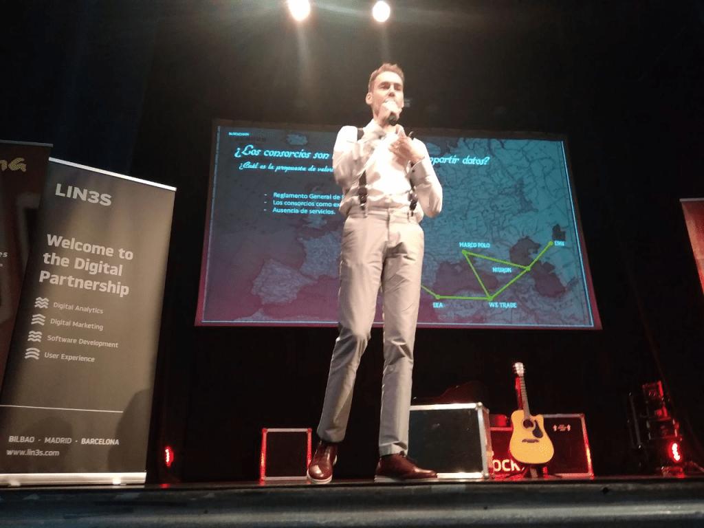 Alberto G. Toribio Bilbao Tech Week Blockchain