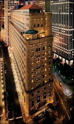 Edificio de la sede de la Fed de Nueva York en el Bajo Manhattan