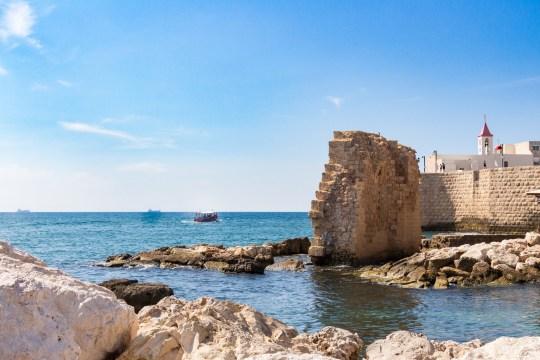 Acre, restos del antiguo puerto