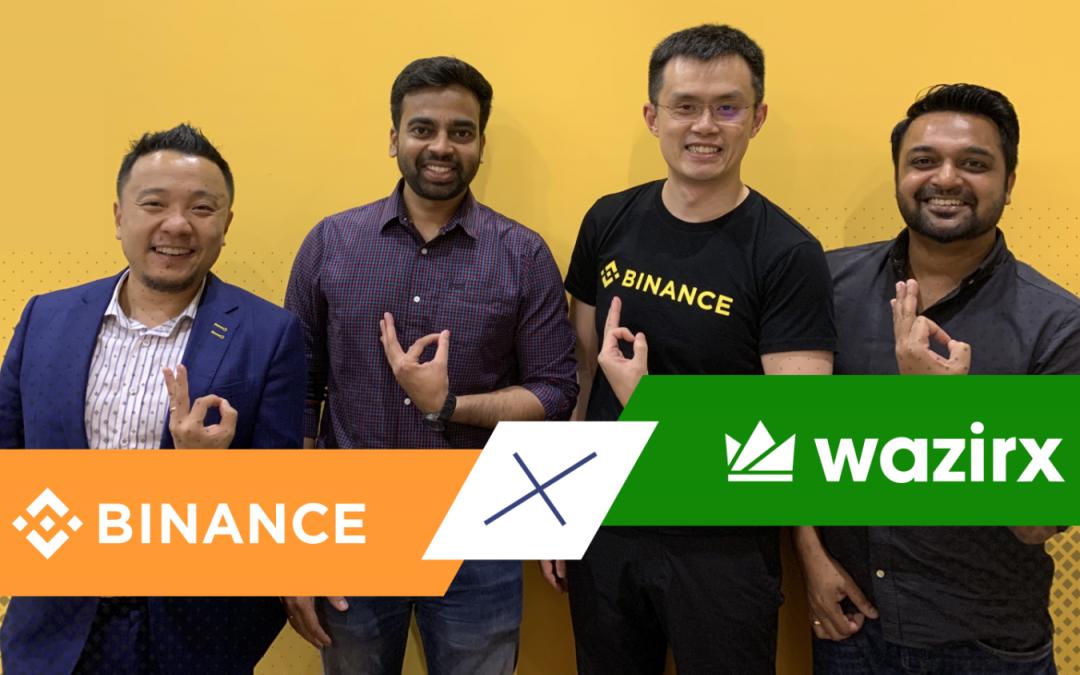 Binance y WazirX lanzan un fondo simbólico de $ 50 millones para invertir en startups indias de blockchain
