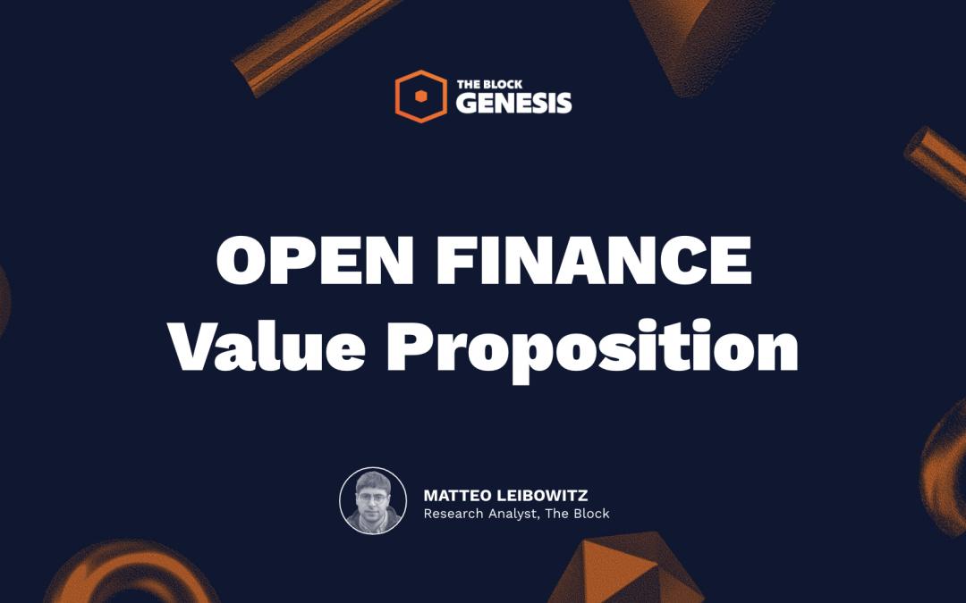 Presentación: la propuesta de valor de Open Finance