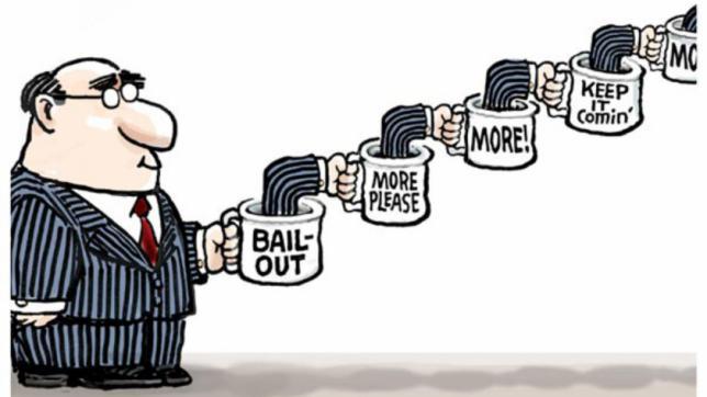 """Generación QE: Cómo los bancos centrales crean dinero desde el aire """"ancho ="""" 551 """"height ="""" 310 """"srcset ="""" https://blackswanfinances.com/wp-content/uploads/2019/11/bail.jpg 644w, https://news.bitcoin.com/wp-content/uploads/ 2019/11 / bail-300x169.jpg 300w """"tamaños ="""" (ancho máximo: 551px) 100vw, 551px"""