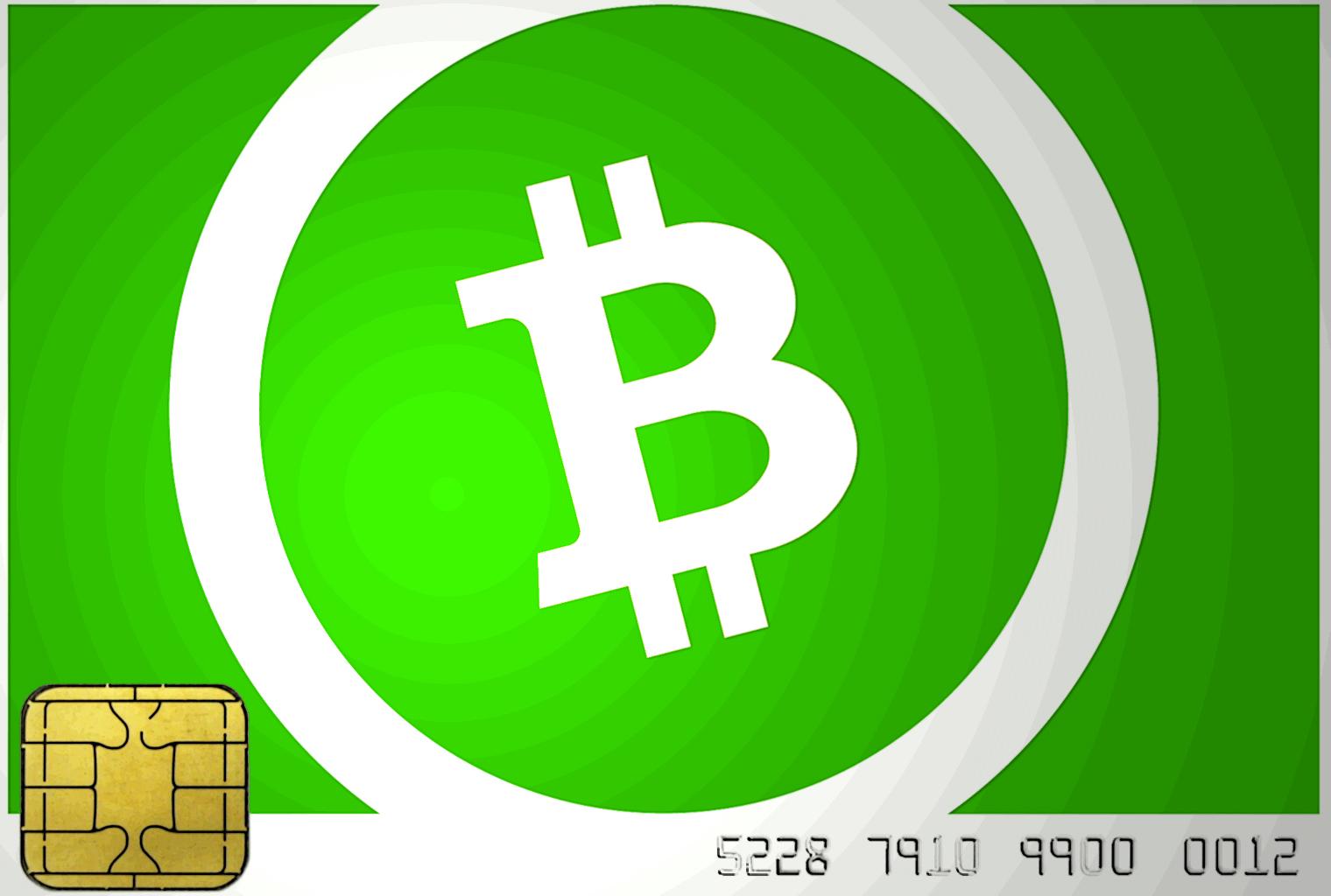 Tarjeta inteligente de demostración de desarrolladores que produce firmas en efectivo de Bitcoin
