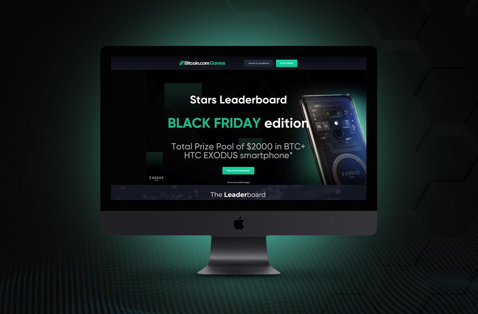 Los jugadores ahora pueden ganar un teléfono HTC Exodus 1 en Bitcoin Games