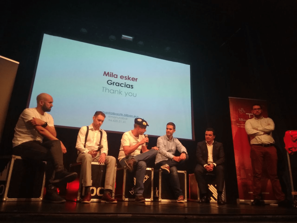 Mesa redonda Bilbao Tech Week