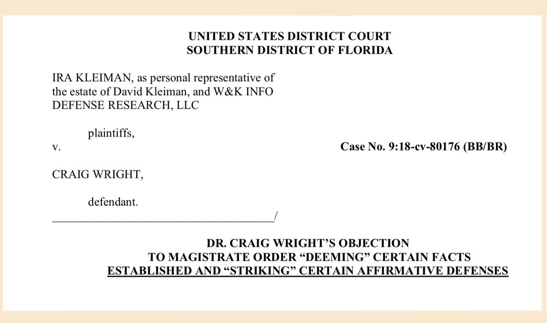 """Honorarios de abogados acumulados mientras Craig Wright lucha contra la orden judicial"""" width = """"573"""" height = """"338"""" srcset = """"https: // news.bitcoin.com/wp-content/uploads/2019/11/objectsa.jpg 1100w, https://news.bitcoin.com/wp-content/uploads/2019/11/objectsa-300x177.jpg 300w, https: //news.bitcoin.com/wp-content/uploads/2019/11/objectsa-1024x605.jpg 1024w, https://news.bitcoin.com/wp-content/uploads/2019/11/objectsa-76 8x454.jpg 768w, https://news.bitcoin.com/wp-content/uploads/2019/11/objectsa-696x411.jpg 696w, https://news.bitcoin.com/wp-content/uploads/2019/ 11 / objectsa-1068x631.jpg 1068w, https://news.bitcoin.com/wp-content/uploads/2019/11/objectsa-711x420.jpg 711w """"tamaños ="""" (ancho máximo: 573px) 100vw, 573px"""