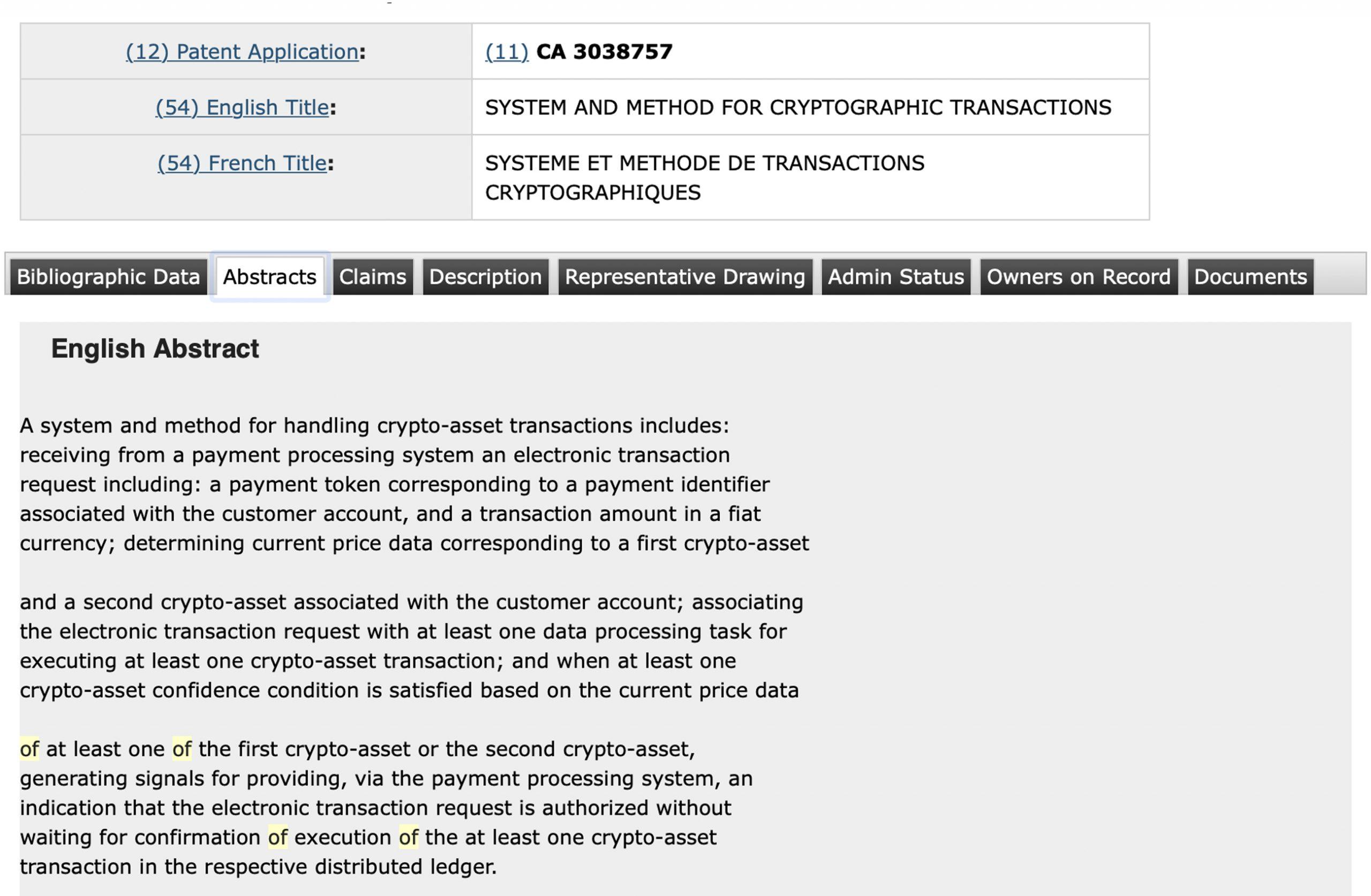 """Las patentes del Royal Bank of Canada apuntan al lanzamiento de Crypto Exchange"""" width = """"549"""" height = """"359"""" srcset = """"https://news.bitcoin.com/wp-content/uploads/ 2019/11 / petatasnnd-scaled.jpg 2560w, https://news.bitcoin.com/wp-content/uploads/2019/11/petatasnnd-300x196.jpg 300w, https://news.bitcoin.com/wp- content / uploads / 2019/11 / petatasnnd-1024x670.jpg 1024w, https://news.bitcoin.com/wp-content/uploads/2019/11/petatasnnd-768x502.jpg 768w, https: //news.bitcoin. com / wp-content / uploads / 2019/11 / petatasnnd-1536x1004.jpg 1536w, https://news.bitcoin.com/wp-content/uploads/2019/11/petatasnnd-2048x1339.jpg 2048w, https: // news.bitcoin.com/wp-content/uploads/2019/11/petatasnnd-696x455.jpg 696w, https://news.bitcoin.com/wp-content/uploads/2019/11/petatasnnd-1392x910.jpg 1392w, https://news.bitcoin.com/wp-content/uploads/2019/11/petatasnnd-1068x698.jpg 1068w, https://news.bitcoin.com/wp-content/uploads/2019/11/petatasnnd-642x420 .jpg 642w, https://news.bitcoin.com/wp-content/uploads/2019/1 1 / petatasnnd-1920x1255.jpg 1920w """"tamaños ="""" (ancho máximo: 549px) 100vw, 549px"""