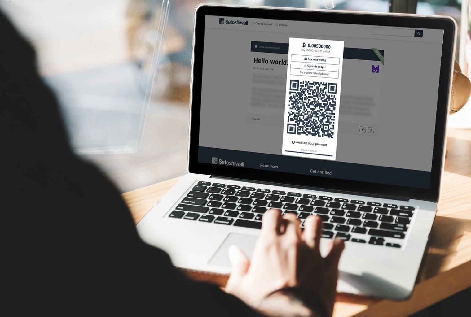 El desarrollador lanza el servicio de Paywall impulsado por BCH