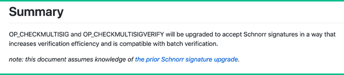 """Qué esperar de la próxima actualización del protocolo de Bitcoin Cash """"width ="""" 680 """"height ="""" 150 """"srcset ="""" https://blackswanfinances.com/wp-content/uploads/2019/11/schnorr22.jpg 680w, https://news.bitcoin.com/wp-content/uploads/2019/11/ schnorr22-300x66.jpg 300w """"tamaños ="""" (ancho máximo: 680px) 100vw, 680px"""