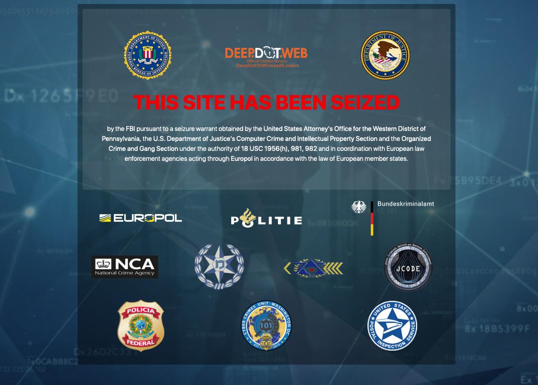 "Los federales se apoderan del sitio web de noticias Deepdotweb mientras Darknet Crackdown intensifica"" width = ""1082"" height = ""773"" srcset = ""https://blackswanfinances.com/wp-content/uploads/2019/11/seized.png 1082w, https://news.bitcoin.com/wp-content/uploads/2019/05/seized-300x214. png 300w, https://news.bitcoin.com/wp-content/uploads/2019/05/seized-768x549.png 768w, https://news.bitcoin.com/wp-content/uploads/2019/05/ seized-1024x732.png 1024w, https://news.bitcoin.com/wp-content/uploads/2019/05/seized-100x70.png 100w, https://news.bitcoin.com/wp-content/uploads/ 2019/05 / seized-696x497.png 696w, https://news.bitcoin.com/wp-content/uploads/2019/05/seized-1068x763.png 1068w, https://news.bitcoin.com/wp- content / uploads / 2019/05 / seized-588x420.png 588w ""tamaños ="" (ancho máximo: 1082px) 100vw, 1082px"