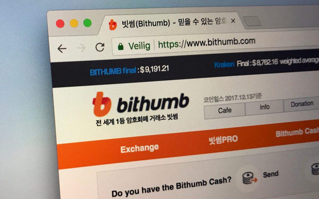 Según se informa, el intercambio de cifrado Bithumb ha comenzado su trabajo de salida a bolsa con Samsung Securities