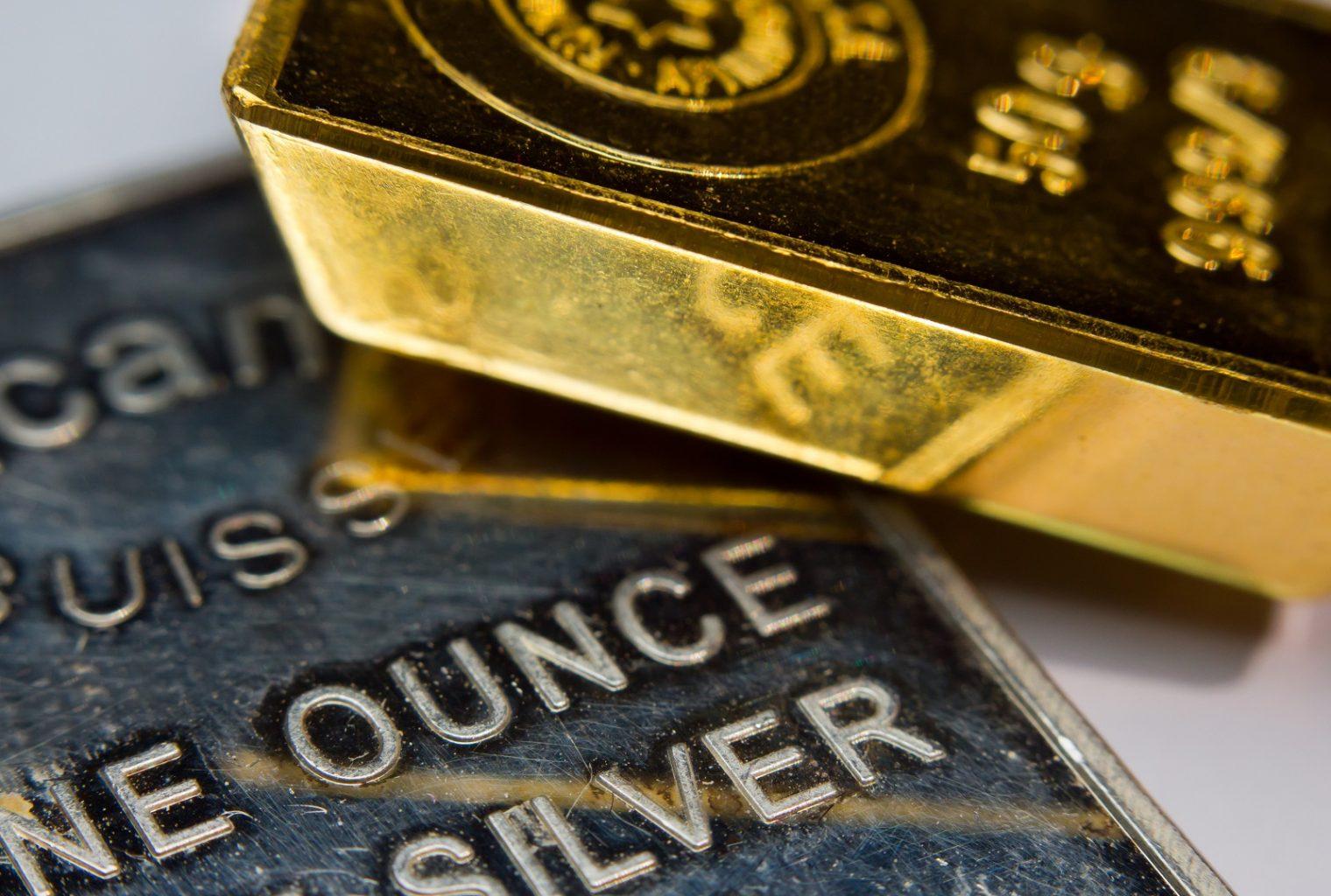 El oro y la plata siguen una tendencia similar a Bitcoin, reaccionan a las noticias sobre China