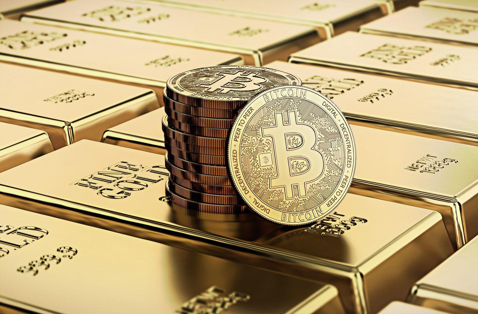 Cuando Bitcoin supera al oro: ¿qué tan alto puede llegar?