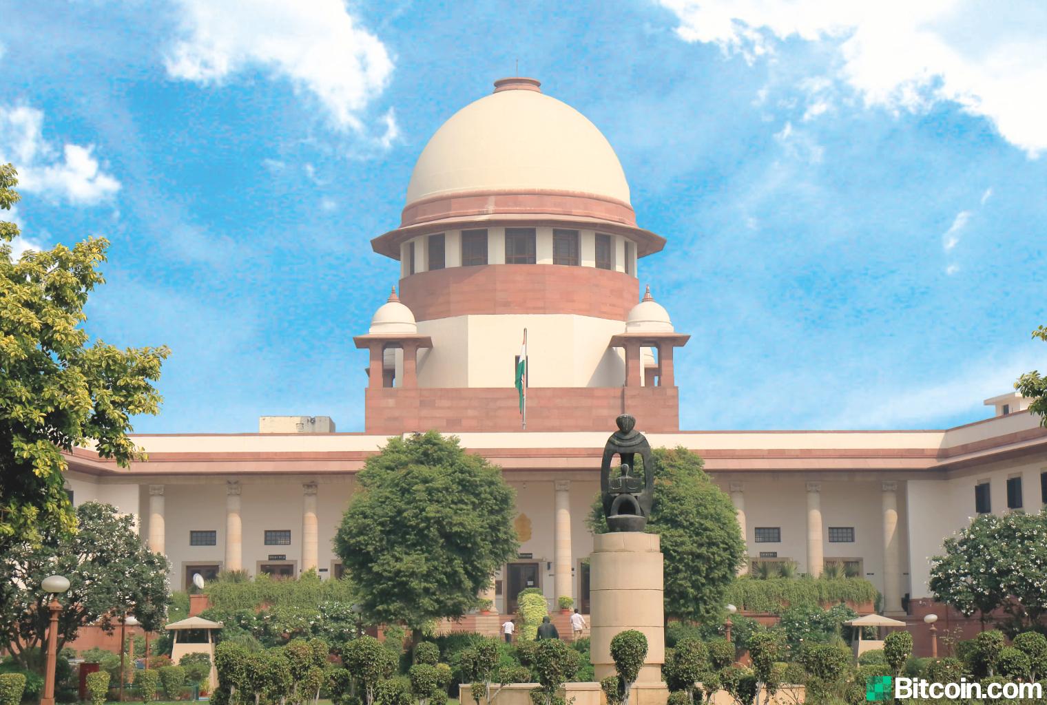 La Corte Suprema de la India concluye la audiencia de criptomonedas para el año