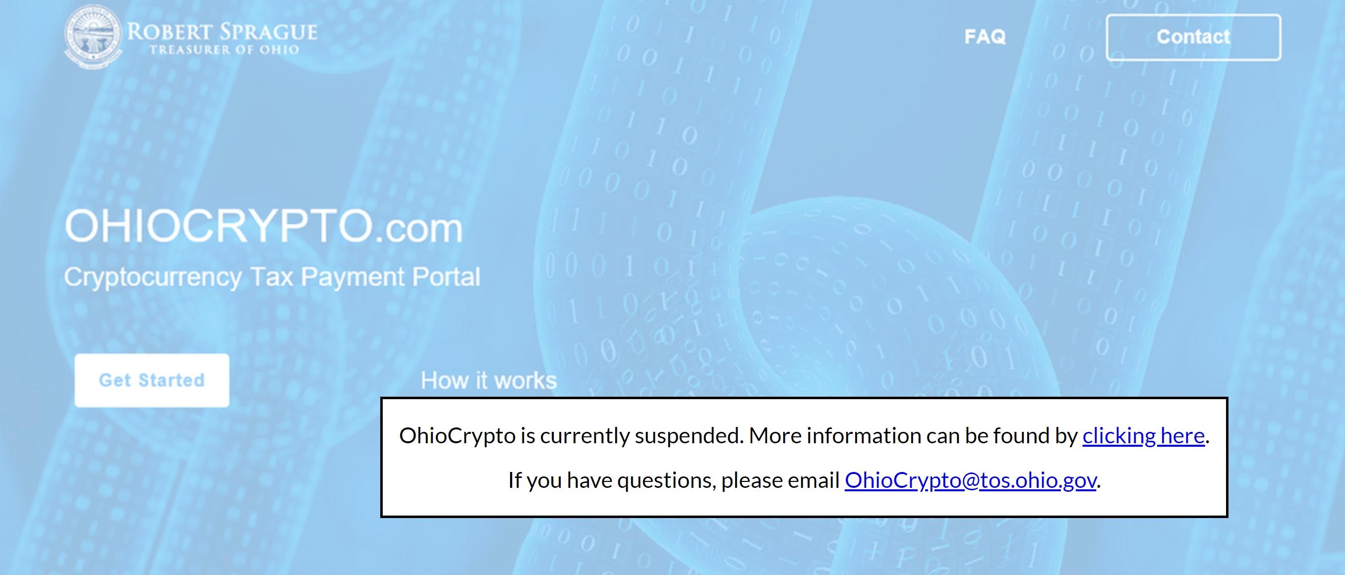 """El Programa de cifrado de Ohio golpea un obstáculo, el Fiscal General lo encuentra ilegal """"width ="""" 2713 """"height ="""" 1161 """"srcset ="""" https://news.bitcoin.com/ wp-content / uploads / 2019/11 / suspension.jpg 2713w, https://news.bitcoin.com/wp-content/uploads/2019/11/suspended-300x128.jpg 300w, https: //news.bitcoin. com / wp-content / uploads / 2019/11 / suspension-768x329.jpg 768w, https://news.bitcoin.com/wp-content/uploads/2019/11/suspended-1024x438.jpg 1024w, https: // news.bitcoin.com/wp-content/uploads/2019/11/suspended-696x298.jpg 696w, https://news.bitcoin.com/wp-content/uploads/2019/11/suspended-1392x596.jpg 1392w, https://news.bitcoin.com/wp-content/uploads/2019/11/suspended-1068x457.jpg 1068w, https://news.bitcoin.com/wp-content/uploads/2019/11/suspended-981x420 .jpg 981w, https://news.bitcoin.com/wp-content/uploads/2019/11/suspended-1920x822.jpg 1920w """"tamaños ="""" (ancho máximo: 2713px) 100vw, 2713px"""