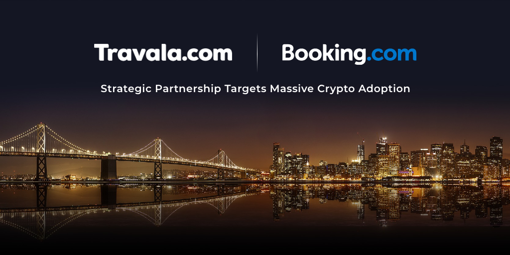 """Travala se asocia con Booking.com: se agregaron 90,000 destinos de aceptación de cifrado """"width ="""" 1024 """"height ="""" 512 """"srcset ="""" https://news.bitcoin.com/wp-content/uploads/2019/11/ travala-com-x-booking-com_.png 1024w, https://news.bitcoin.com/wp-content/uploads/2019/11/travala-com-x-booking-com_-300x150.png 300w, https: //news.bitcoin.com/wp-content/uploads/2019/11/travala-com-x-booking-com_-768x384.png 768w, https://news.bitcoin.com/wp-content/uploads/2019 /11/travala-com-x-booking-com_-696x348.png 696w, https://news.bitcoin.com/wp-content/uploads/2019/11/travala-com-x-booking-com_-840x420. png 840w """"tamaños ="""" (ancho máximo: 1024px) 100vw, 1024px"""