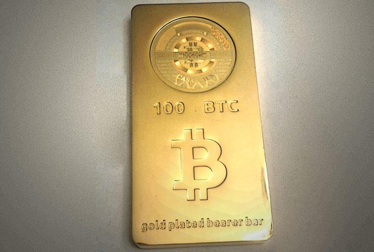 Alguien canjeó un Bar Casascius de 100 BTC por valor de más de $ 700K