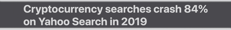 "Las búsquedas de Google y Yahoo en 2019 para la disminución de Bitcoin Significativamente ""ancho ="" 1500 ""altura ="" 200 ""srcset ="" https://blackswanfinances.com/wp-content/uploads/2019/12/2019yahoo.jpg 1500w, https://news.bitcoin.com/wp-content/uploads/2019/12/2019yahoo-300x40.jpg 300w, https://news.bitcoin.com/wp-content/uploads/2019/12/2019yahoo-1024x137.jpg 1024w, https://news.bitcoin.com/wp-content/uploads/2019/12/2019yahoo -768x102.jpg 768w, https://news.bitcoin.com/wp-content/uploads/2019/12/2019yahoo-696x93.jpg 696w, https://news.bitcoin.com/wp-content/uploads/2019 /12/2019yahoo-1392x186.jpg 1392w, https://news.bitcoin.com/wp-content/uploads/2019/12/2019yahoo-1068x142.jpg 1068w ""tamaños ="" (ancho máximo: 1500px) 100vw, 1500px"