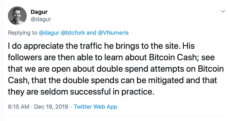 "Travelbybit para cancelar los pagos de Bitcoin después del video viral de doble gasto ""width ="" 598 ""height ="" 319 "" srcset = ""https://blackswanfinances.com/wp-content/uploads/2019/12/dbcsh.jpg 1500w, https://news.bitcoin.com/wp-content/uploads/2019/12/dbcsh- 300x160.jpg 300w, https://news.bitcoin.com/wp-content/uploads/2019/12/dbcsh-1024x546.jpg 1024w, https://news.bitcoin.com/wp-content/uploads/2019/ 12 / dbcsh-768x410.jpg 768w, https://news.bitcoin.com/wp-content/uploads/2019/12/dbcsh-696x371.jpg 696w, https://news.bitcoin.com/wp-content/ uploads / 2019/12 / dbcsh-1392x742.jpg 1392w, https://news.bitcoin.com/wp-content/uploads/2019/12/dbcsh-1068x570 .jpg 1068w, https://news.bitcoin.com/wp-content/uploads/2019/12/dbcsh-788x420.jpg 788w ""tamaños ="" (ancho máximo: 598px) 100vw, 598px"