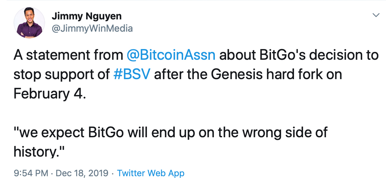 "Dos informes critican a los mineros de Bitcoin SV y la próxima bifurcación de la cadena ""width ="" 527 ""height ="" 243 ""srcset ="" https://blackswanfinances.com/wp-content/uploads/2019/12/jimmy22.jpg 1300w, https://news.bitcoin.com/wp-content/uploads/2019/12/ jimmy22-300x138.jpg 300w, https://news.bitcoin.com/wp-content/uploads/2019/12/jimmy22-1024x473.jpg 1024w, https://news.bitcoin.com/wp-content/uploads/ 2019/12 / jimmy22-768x354.jpg 768w, https://news.bitcoin.com/wp-content/uploads/2019/12/jimmy22-696x321.jpg 696w, https://news.bitcoin.com/wp- content / uploads / 2019/12 / jimmy22-1068x493.jpg 1068w, https://news.bitcoin.com/wp-content/uploads/2019/12/jimmy22-910x420.jpg 910w ""tamaños ="" (ancho máximo: 527px) 100vw, 527px"