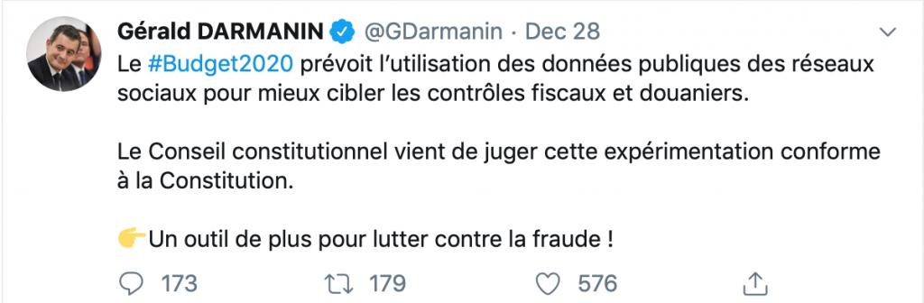 """El acecho en las redes sociales de Francia señala la violencia de Fiat, el consentimiento de la criptografía """"width ="""" 696 """"height ="""" 228 """"srcset ="""" https://news.bitcoin.com/wp-content/uploads/2019/ 12 / screen-shot-2019-12-29-at-10-07-52-1024x336.png 1024w, https://news.bitcoin.com/wp-content/uploads/2019/12/screen-shot-2019 -12-29-at-10-07-52-300x98.png 300w, https://news.bitcoin.com/wp-content/uploads/2019/12/screen-shot-2019-12-29-at- 10-07-52-768x252.png 768w, https://news.bitcoin.com/wp-content/uploads/2019/12/screen-shot-2019-12-29-at-10-07-52-696x228 .png 696w, https://news.bitcoin.com/wp-content/uploads/2019/12/screen-shot-2019-12-29-at-10-07-52-1068x350.png 1068w, https: / /news.bitcoin.com/wp-content/uploads/2019/12/screen-shot-2019-12 -29-at-10-07-52.png 1202w """"tamaños ="""" (ancho máximo: 696px) 100vw, 696px"""