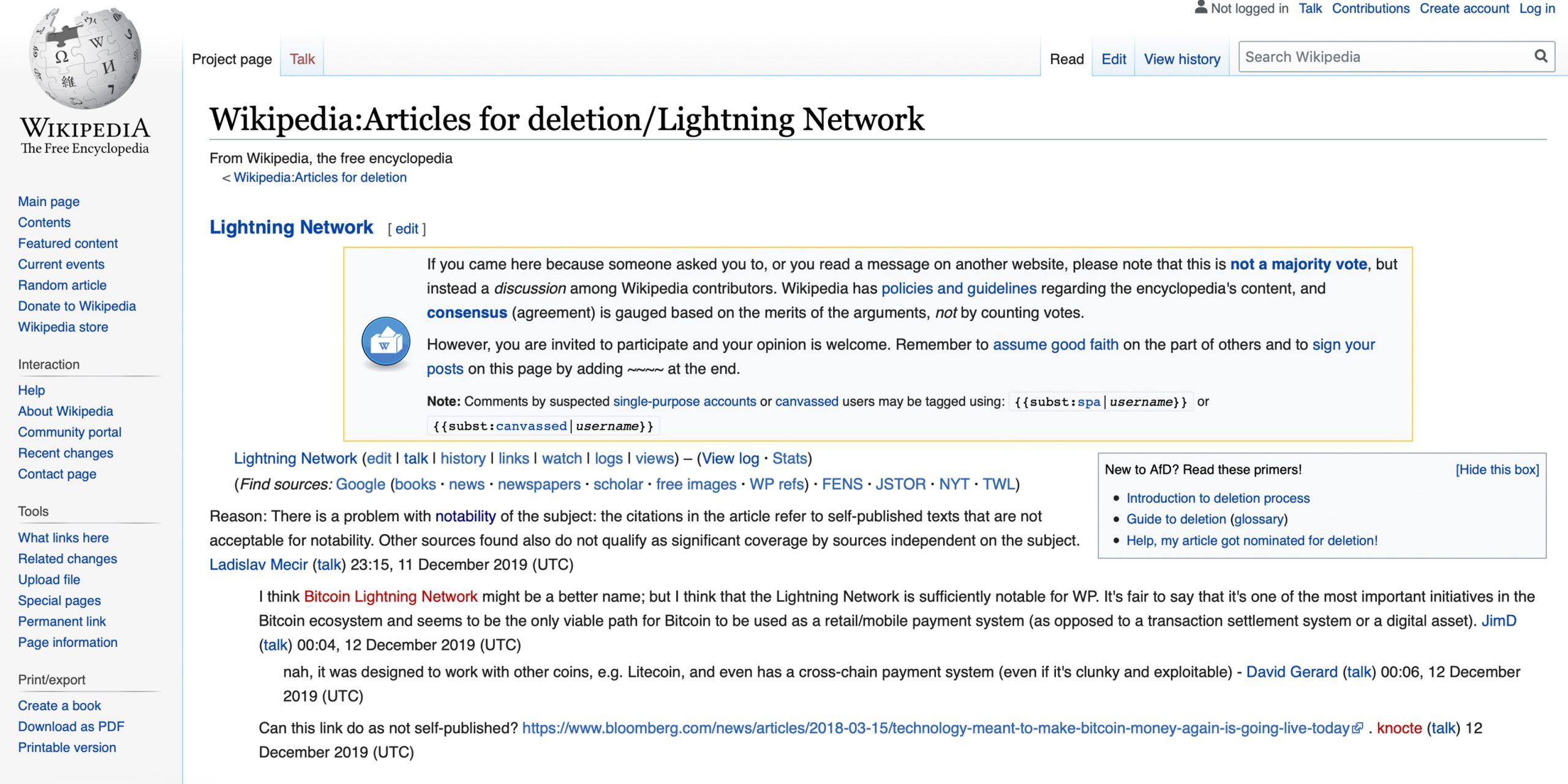 "La página Wiki de Lightning Network se enfrenta a la eliminación por falta de notoriedad ""width ="" 2560 ""height ="" 1280 ""srcset ="" https://blackswanfinances.com/wp-content/uploads/2019/12/wikiworld-scaled.jpg 2560w, https://news.bitcoin.com/wp-content/uploads/2019/12/wikiworld-300x150 .jpg 300w, https://news.bitcoin.com/wp-content/uploads/2019/12/wikiworld-1024x512.jpg 1024w, https://news.bitcoin.com/wp-content/uploads/2019/12 /wikiworld-768x384.jpg 768w, https://news.bitcoin.com/wp-content/uploads/2019/12/wikiworld-1536x768.jpg 1536w, https://news.bitcoin.com/wp-content/uploads /2019/12/wikiworld-2048x1024.jpg 2048w, https://news.bitcoin.com/wp-content/uploads/2019/12/wikiworld-696x348.jpg 696w, https://news.bitcoin.com/wp -content / uploads / 2019/12 / wikiworld-1392x696.jpg 1392w, https://news.bitcoin.com/wp-content/uploads/2019/12/wikiworld-1068x534.jpg 1068w, https: //news.bitcoin .com / wp-content / uploads / 2019/12 / w ikiworld-840x420.jpg 840w, https://news.bitcoin.com/wp-content/uploads/2019/12/wikiworld-1920x960.jpg 1920w ""tamaños ="" (ancho máximo: 2560px) 100vw, 2560px"