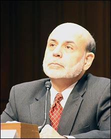 Ex presidente de la Fed Ben Bernanke