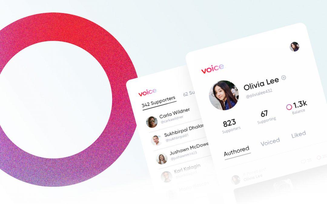 Se lanzó la aplicación de redes sociales Block.one Voice