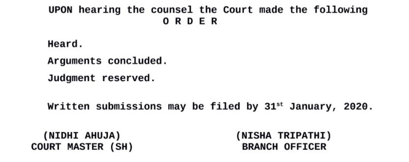 """Audiencia concluida: La Corte Suprema de la India resuelve el fallo sobre el caso Crypto vs RBI """"width ="""" 834 """"height ="""" 331 """"srcset ="""" https://news.bitcoin.com/wp- content / uploads / 2020/01 / court-order.png 834w, https://news.bitcoin.com/wp-content/uploads/2020/01/court-order-300x119.png 300w, https: // noticias. bitcoin.com/wp-content/uploads/2020/01/court-order-768x305.png 768w, https://news.bitcoin.com/wp-content/uploads/2020/01/court-order-696x276.png 696w """"tamaños ="""" (ancho máximo: 834px) 100vw, 834px"""