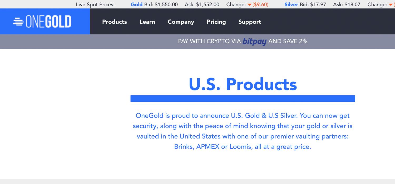 """El mercado de lingotes en línea Onegold ve $ 50 millones en criptopagos """"width ="""" 1500 """"height ="""" 700 """"srcset ="""" https: // news .bitcoin.com / wp-content / uploads / 2020/01 / crypto2percent.jpg 1500w, https://news.bitcoin.com/wp-content/uploads/2020/01/crypto2percent-300x140.jpg 300w, https: / /news.bitcoin.com/wp-content/uploads/2020/01/crypto2percent-1024x478.jpg 1024w, https://news.bitcoin.com/wp-content/uploads/2020/01/crypto2percent-768x358.jpg 768w , https://news.bitcoin.com/wp-content/uploads/2020/01/crypto2percent-696x325.jpg 696w, https://news.bitcoin.com/wp-content/uploads/2020/01/crypto2percent- 1392x650.jpg 1392w, https://news.bitcoin.com/wp-content/uploads/2020/01/crypto2percent-1068x498.jpg 1068w, https://news.bitcoin.com/wp-content/uploads/2020/ 01 / crypto2percent-900x420.jpg 900w """"tamaños ="""" (ancho máximo: 1500px) 100vw, 1500px"""