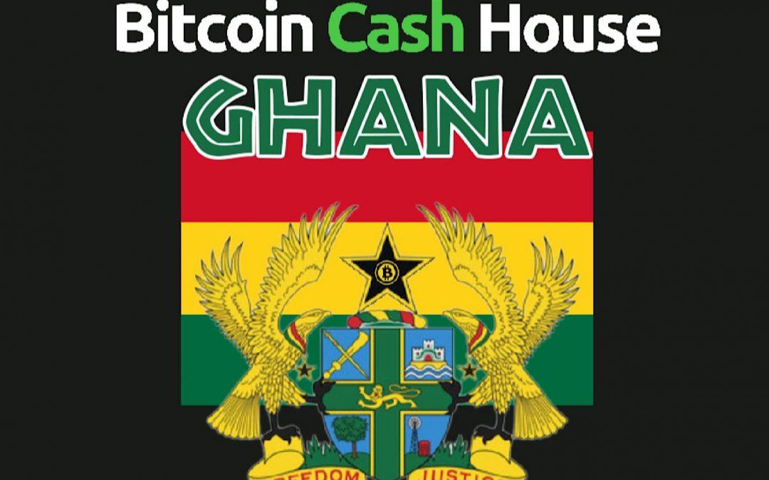 El movimiento de la casa de caja Bitcoin Cash se expande a Ghana