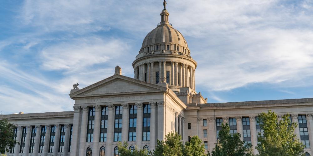 """Nuevo proyecto de ley en Oklahoma propone depósito para criptomonedas utilizadas por el gobierno """"width ="""" 1000 """"height ="""" 500 """"srcset ="""" https: / /news.bitcoin.com/wp-content/uploads/2019/01/oklahoma1.jpg 1000w, https://news.bitcoin.com/wp-content/uploads/2019/01/oklahoma1-300x150.jpg 300w, https : //news.bitcoin.com/wp-content/uploads/2019/01/oklahoma1-768x384.jpg 768w, https://news.bitcoin.com/wp-content/uploads/2019/01/oklahoma1-696x348. jpg 696w, https://news.bitcoin.com/wp-content/uploads/2019/01/oklahoma1-840x420.jpg 840w """"tamaños ="""" (ancho máximo: 1000px) 100vw, 1000px"""