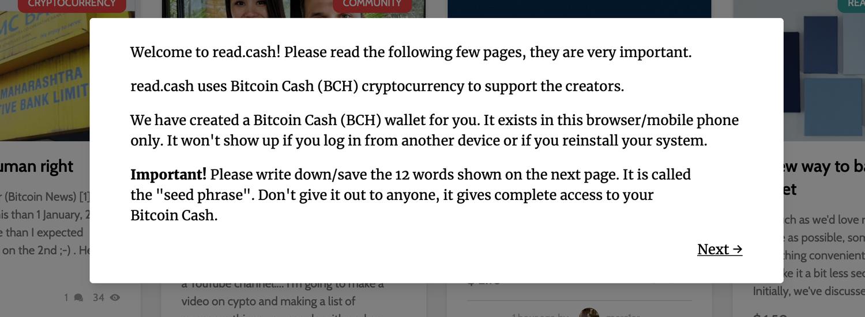 "Plataforma Read.cash Recompensa a los creadores de contenido con incentivos de efectivo de Bitcoin ""ancho ="" 1500 ""altura = ""550"" srcset = ""https://blackswanfinances.com/wp-content/uploads/2020/01/reg2.jpg 1500w, https://news.bitcoin.com/wp-content/uploads/2020/ 01 / reg2-300x110.jpg 300w, https://news.bitcoin.com/wp-content/uploads/2020/01/reg2-1024x375.jpg 1024w, https://news.bitcoin.com/wp-content/ uploads / 2020/01 / reg2-768x282.jpg 768w, https://news.bitcoin.com/wp-content/uploads/2020/01/reg2-696x255.jpg 696w, https://news.bitcoin.com/ wp-content / uploads / 2020/01 / reg2-1392x510.jpg 1392w, https://news.bitcoin.com/wp-content/uploads/2020/01/reg2-1068x392.jpg 1068w, https: // noticias. bitcoin.com/wp-content/uploads/2020/01/reg2-1145x420.jpg 1145w ""tamaños ="" (ancho máximo: 1500px) 100vw, 1500px"