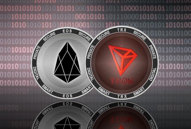 Ethereum, Tron y EOS controlan el 98% del volumen total de Dapp