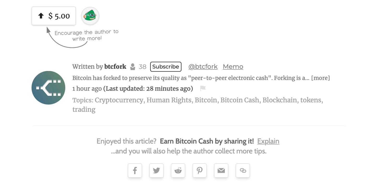 "La plataforma Read.cash recompensa a los creadores de contenido con incentivos de efectivo de Bitcoin ""width ="" 1500 ""height ="" 700 ""srcset ="" https: / /news.bitcoin.com/wp-content/uploads/2020/01/tippins.jpg 1500w, https://news.bitcoin.com/wp-content/uploads/2020/01/tippins-300x140.jpg 300w, https : //news.bitcoin.com/wp-content/uploads/2020/01/tippins-1024x478.jpg 1024w, https://news.bitcoin.com/wp-content/uploads/2020/01/tippins-768x358. jpg 768w, https://news.bitcoin.com/wp-content/uploads/2020/01/tippins-696x325.jpg 696w, https://news.bitcoin.com/wp-content/uploads/2020/01/ tippins-1392x650.jpg 1392w, https://news.bitcoin.com/wp-content/uploads/2020/01/tippins-1068x498.jpg 1068w, https://news.bitcoin.com/wp-content/uploads/ 2020/01 / tippins-900x420.jpg 900w ""tamaños ="" (ancho máximo: 1500px) 100vw, 1500px"