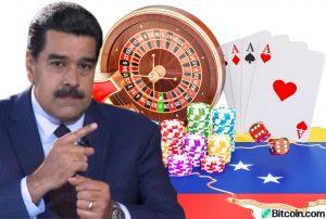 Maduro abre Crypto Casino en Venezuela