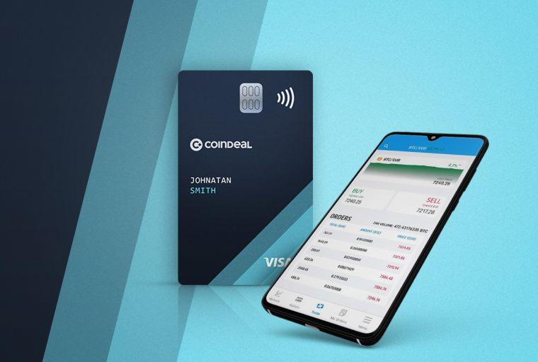 CoinDeal lanza una tarjeta de débito criptográfica con grandes beneficios
