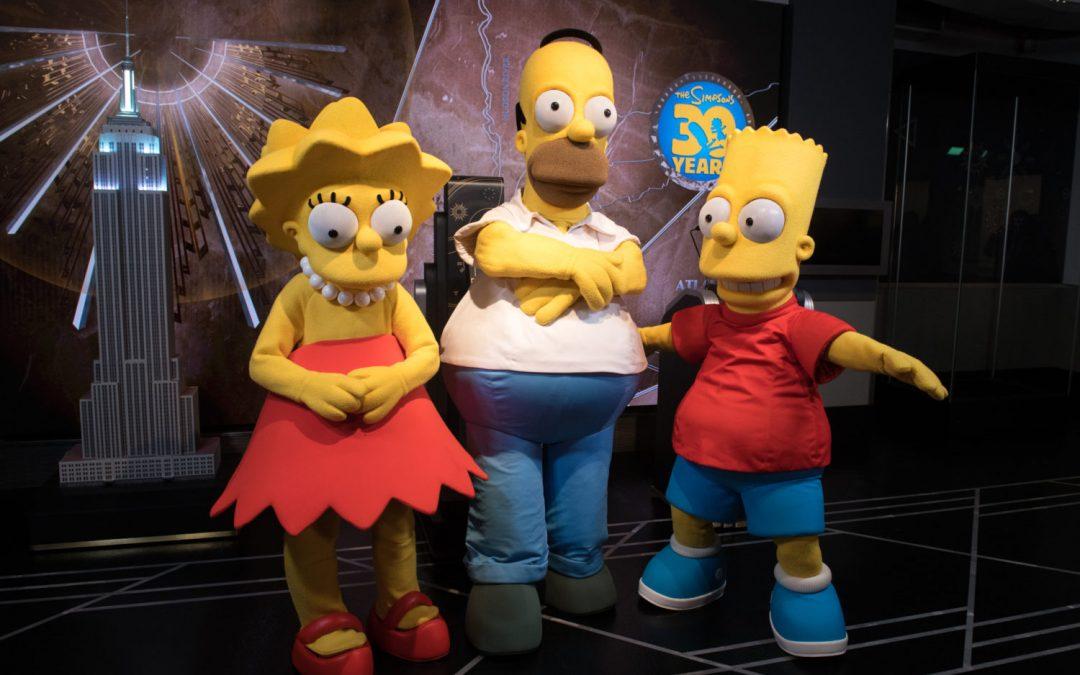 El último episodio de Los Simpson explica blockchain y crypto