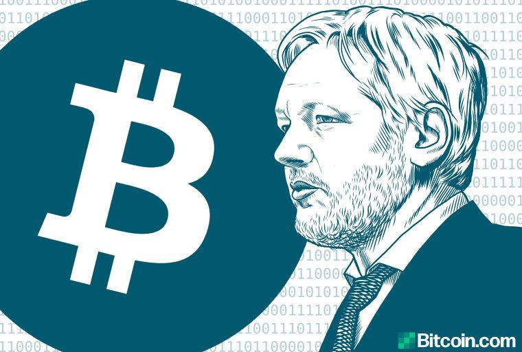Wikileaks reúne $ 37M en BTC desde 2010 - Más de $ 400K enviados después del arresto de Julian Assange